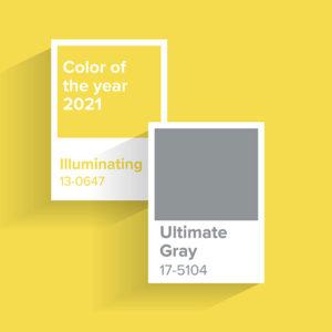 Tendències 2021 en colors per a interiors